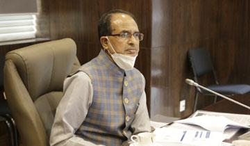 मुख्यमंत्री श्री शिवराज सिंह चौहान ने मंत्रालय में कोरोना महामारी के संबंध में समीक्षा बैठक ली।