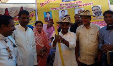 पंचायत एवं ग्रामीण विकास मंत्री श्री कमलेश्वर पटेल सीधी में अंतर्राष्ट्रीय आदिवासी दिवस समारोह में शामिल हुए।