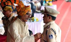 मुख्यमंत्री श्री शिवराज सिंह चौहान ने स्वतंत्रता दिवस के अवसर पर पुलिस ...