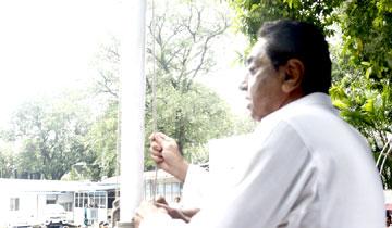मुख्यमंत्री श्री कमल नाथ ने मुख्यमंत्री निवास में ध्वजारोहण किया।