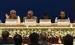 मध्यप्रदेश रेरा प्राधिकरण के अध्यक्ष श्री एंटोनी डिसा आज नई दिल्ली में हुई नेशनल कॉन्फ्रेंस में विशेषज्ञ वक्ता के रूप में शामिल हुए।#$54413