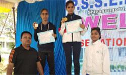 मध्यप्रदेश राज्य एथलेटिक्स अकादमी की खिलाड़ी मनदीप कौर ने कर्नाटक के दे ...