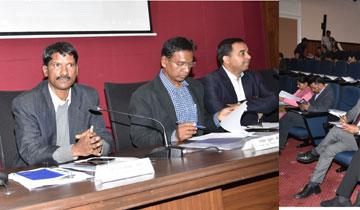 मुख्य निर्वाचन पदाधिकारी श्री व्ही.एल. कांताराव ने आगामी लोकसभा निर्वाचन 2019 की तैयारियों की समीक्षा की।#$55187