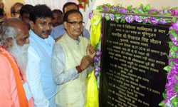 मुख्यमंत्री शिवराज सिंह चौहान ने सतना में मेडिकल कॉलेज का भूमि-पूजन कि ...