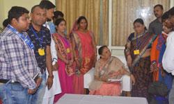राज्यपाल श्रीमती आनंदीबेन पटेल ने आज खरगोन में केन्द्र सरकार की मुद्रा ...