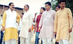 जल संसाधन मंत्री डॉ. नरोत्तम मिश्र ने आज शिवपुरी जिले के पिछोर में उर  ...
