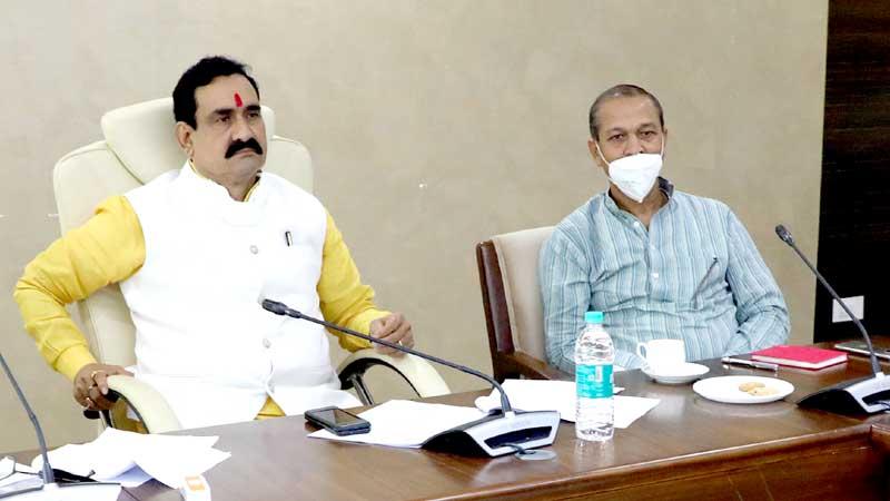 गृह एवं जेल मंत्री डॉ. नरोत्तम मिश्रा ने आत्मनिर्भर मध्यप्रदेश के रोडमेप के लिए