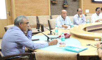 मुख्य सचिव श्री एस.आर.मोहंती की अध्यक्षता में मंत्रालय में मध्यप्रदेश समग्र शिक्षा अभियान की कार्यकारिणी समिति की बैठक हुई।