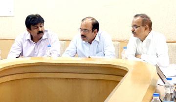 प्रमुख सचिव गृह श्री एस.एन. मिश्रा की अध्यक्षता में राज्य सड़क सुरक्षा कोष की बैठक हुई।